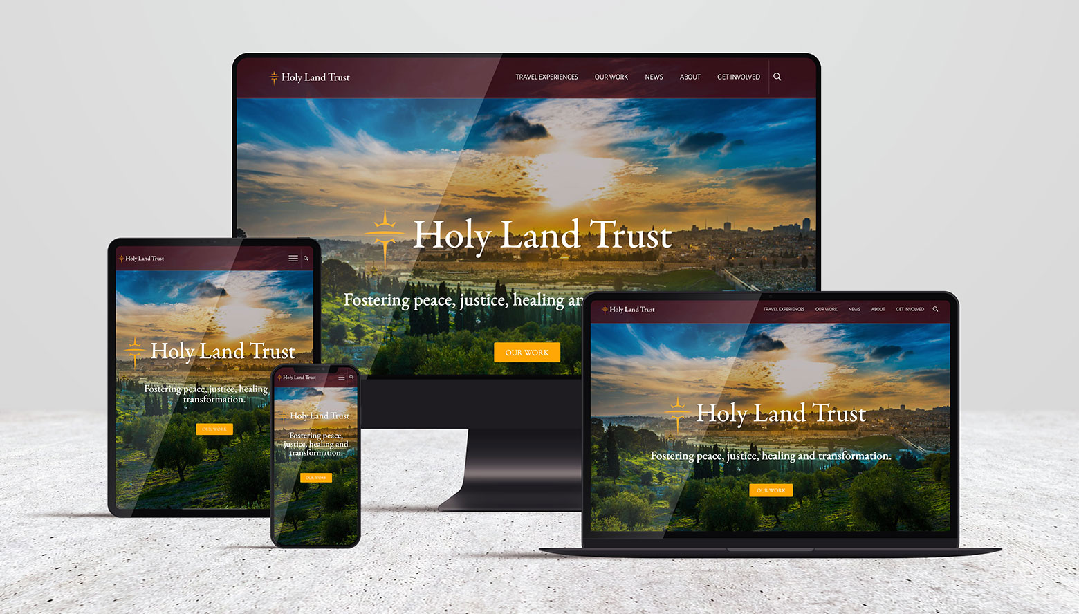 Holy Land Trust brand and marketing case study by Bryt•Idea Consulting